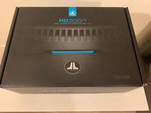 JL Audio RD500/1 Mono Amplifier Kicker Helix Mosconi Audison Arc Audio Zapco
