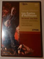 Les Contes D'Hoffmann (The Tales of Hoffmann) DVD SEALED Jacques Offenbach NEW