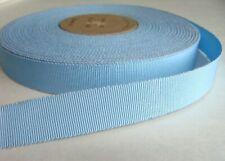 Vintage Grosgrain Ribbon Millinery Craft Hat Trim Blue Color