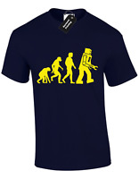 EVOLUTION OF ROBOT KIDS CHILDRENS T SHIRT TOP BIG BANG FUNNY BOYS THEORY DESIGN
