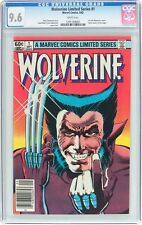 Wolverine Limited Series #1 CGC 9.6 1982 2 Book SET! Frank Miller! F8 127 121 cm