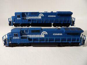 2 Bachmann Conrail N Scale Diesel Locos # 6042 & 6044 ( No Boxes )