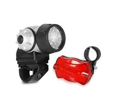 21 Led Bicycle Front Lamp 4 Modes & 5 Led Bike Flash Rear Light for Night Riding