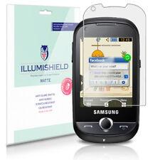 iLLumiShield Matte Screen Protector w Anti-Glare/Print 3x for Samsung CorbyPRO
