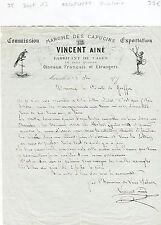 Dépt 13- Marseille -Vente d'Oiseaux Français & Etrangers Fabricant de Cages 1872