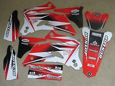FLU PTS2  WHITE/RED GRAPHICS YAMAHA YZ250F YZ450F YZF250 YZF450   2008 2009