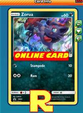 Zorua - Promo SM83 - for Pokemon TCG Online ( DIGITAL ptcgo in Game Card)
