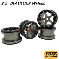 "ROCK BEADLOCK 2.2"" WHEEL 5-Spoke (4) For RC AXIAL SCX10 WRAITH RR10 TRX-4 JEEP"