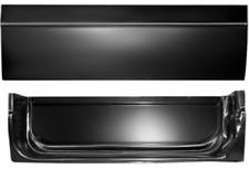 55 56 57 58 59 Chevy Pickup Truck Door Skin Lower Half LH CPDR5559-14L