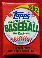 1981 1982 1983 1984 1985 1986 1989 1991 TOPPS BASEBALL CARD WAX UNOPENED PACKS