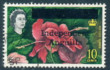 Scott 8/SG 8, 10c 1967 Independent Anguilla overprint, Fresh VF Used