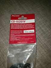 Pioneer Cd-Iu201V Usb Interface Cable iPod/iPhone 30-Pin See Models in Descripti