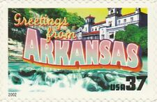 US 3699 Greetings from Arkansas 37c single MNH 2002
