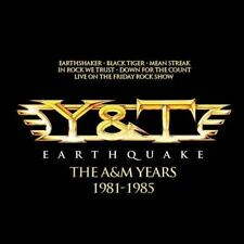 Earthquake: The A&M Years by Y&T (CD, Oct-2013, 4 Discs, Universal)