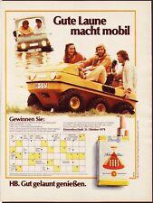 funmobil - beach - HB  -  Historische Reklame - alte Annonce - Werbung
