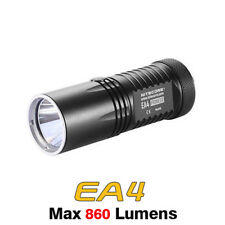 NiteCore EA4 Pioneer Cree XM-L U2 Cool White LED 4x AA Flashlight Torch