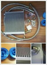 19 row oil cooler + Relocation full Kit suit toyota Y60 Y61 supra 2jz 1jz