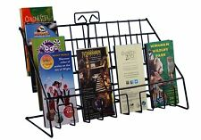 Stand-Store Counter Display Stand for Mixed Sized Greeting Card/Leaflet/DVD s -