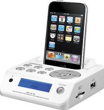 Sangean MMC-96i RS iPod Dockingstation USB SD Fernbedienung weiß