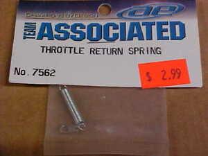 TEAM ASSOCIATED 7562 = THROTTLE RETURN SPRING  (NEW)