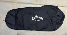 New listing Callaway Standard Travel Cover Nylon Golf Bag Carrier Black
