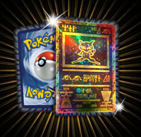 Ancient Mew Proxi Pokemon Card in Holo