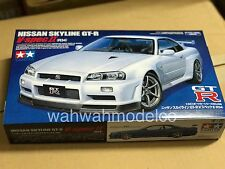 Tamiya 24258 1/24 Scale Model Sports Car Kit Nissan Skyline GT-R R34 V-Spec II
