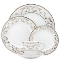 Lenox Opal Innocence Silver 5-Piece Dinnerware Place Setting BRAND NEW! $200MSRP