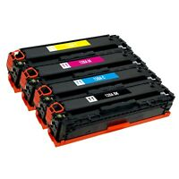 4 Pack Toner Cartridge for HP 128A CE320A CE321A CE322A CE323A CM1415fn CP1525nw