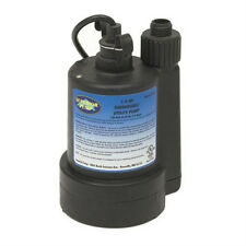 Superior Submersible Water Pump Small Utility Sub Durable Sump 14 Hp 30g Per 1m