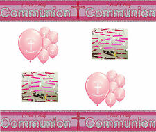 FIRST HOLY COMMUNION GIRL PARTY PACK (12)