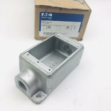 "CROUSE HINDS FSC1 CAST DEVICE BOXES 1/2"", CONDULET SERIES, SINGLE GANG"
