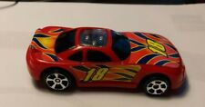 Vintage 2005 M.M.T.L. remote control toy car #18 red Sports Racing collectible