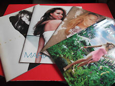 RARE! MARIAH CAREY Japan Tour Program 1996 1998 2000 2003 Concert brochure 4book