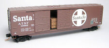 AT&SF Santa Fe 50' Standard Box Car Double Doors w/Load MTL# 037 00 120 NEW