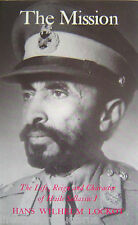 THE MISSION LIFE REIGN AND CHARACTER OF HAILE SELLASSIE I LOCKOT BOOK ETHIOPIA -
