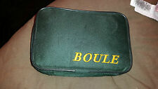6 Metal Boules In Case With Line