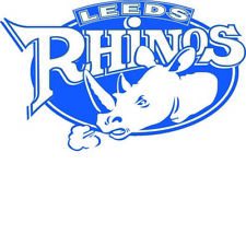 LEEDS RHINOS laptop, car, bumper, window vinyl decal/sticker