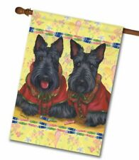 "Precious Pets Garden Flag - Scotties Rule 12"" x 18"" ~ Charity!"