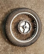 1977 Kawasaki KZ400 KZ 400 REAR wheel rim hub spoked tire