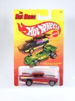 Hot Wheels 2011 The Hot Ones '57 Chevy NEW NOC 1/64 Diecast with Protector Pak