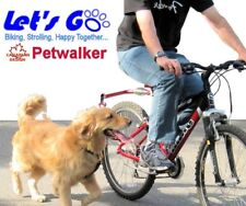 Bicycle Dog Leash, Let's Go RED Petwalker, Hands Free Leash