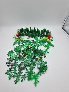 Lego Trees Plants Job Lot Green City Moc (L9)