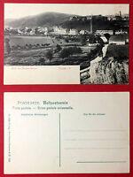 AK NOSSEN in Sa. um 1905 Blick vom Bergschlösschen auf den Ort    ( 13228