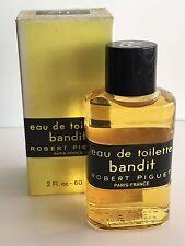 """VINTAGE - ROBERT PIGUET """"BANDIT"""" EAU DE TOILETTE 2 FL OZ 60 ml WITH  BOX"""