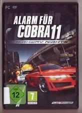 Alarme pour Cobra 11 Highway Nights voitures de police plus de 70 Missions PC JEU