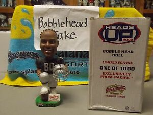 NIB PACIFIC 2002 JERRY RICE OAKLAND RAIDERS BOBBLEHEAD ONLY 1000 MADE
