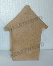 BEACH HUT SMALL IN MDF (97mm  Width: 74mm  Depth: 18mm)/WOODEN/BLANK CRAFT SHAPE