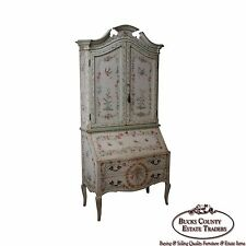 Patina Hand Painted Italian Palazzo Secretary Desk