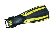 Oceanic Viper Yellow Reg Fin Scuba Diving/Snorkeling Adjustable Straps SINGLE